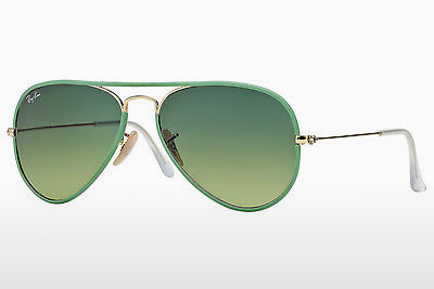 Óculos de marca Ray-Ban AVIATOR FULL COLOR (RB3025JM 001/3M) - Dourado