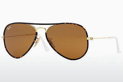 Óculos de marca Ray-Ban AVIATOR FULL COLOR (RB3025JM 001) - Dourado