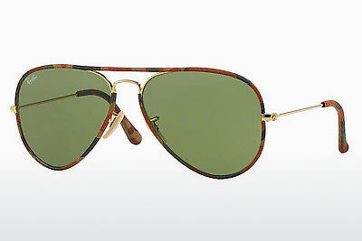 Óculos de marca Ray-Ban AVIATOR FULL COLOR (RB3025JM 168/4E) - Dourado