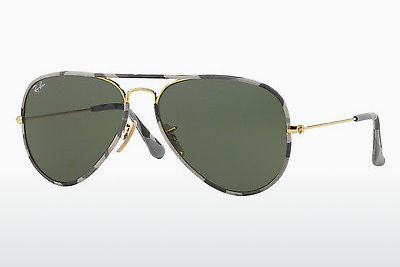 Óculos de marca Ray-Ban AVIATOR FULL COLOR (RB3025JM 171) - Dourado