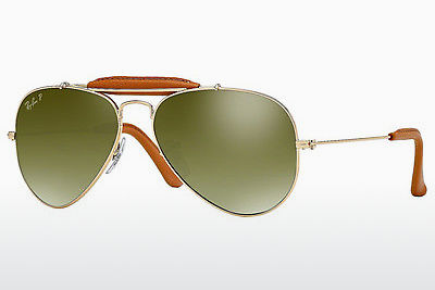 Óculos de marca Ray-Ban AVIATOR CRAFT (RB3422Q 001/M9) - Dourado