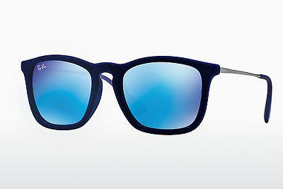 Óculos de marca Ray-Ban CHRIS (RB4187 608155) - Azul