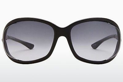 Óculos de marca Tom Ford Jennifer (FT0008 01B) - Preto, Shiny