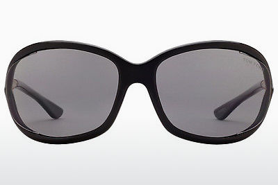 Óculos de marca Tom Ford Jennifer (FT0008 01D) - Preto
