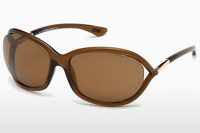 Óculos de marca Tom Ford Jennifer (FT0008 48H) - Castanho