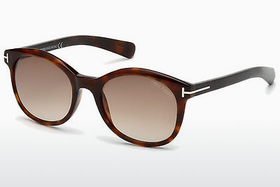 Óculos de marca Tom Ford Riley (FT0298 52F) - Castanho, Dark, Havana