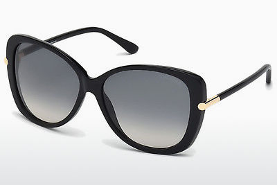 Óculos de marca Tom Ford Linda (FT0324 01B) - Preto, Shiny