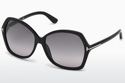 Óculos de marca Tom Ford Carola (FT0328 01B) - Preto, Shiny