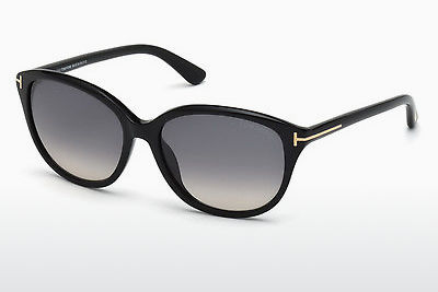 Óculos de marca Tom Ford Karmen (FT0329 01B) - Preto, Shiny