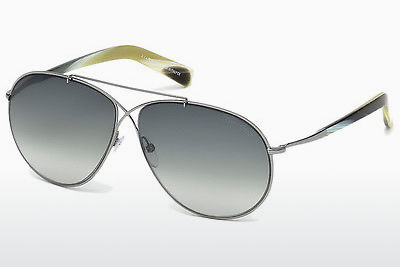 Óculos de marca Tom Ford Eva (FT0374 15B) - Cinzento, Shiny, Matt
