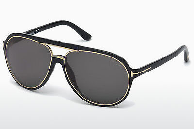 Óculos de marca Tom Ford Sergio (FT0379 01A) - Preto, Shiny