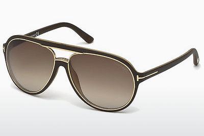 Óculos de marca Tom Ford Sergio (FT0379 50K) - Castanho, Dark