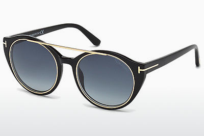 Óculos de marca Tom Ford Joan (FT0383 01W) - Preto, Shiny