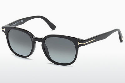 Óculos de marca Tom Ford Frank (FT0399 01N) - Preto, Shiny