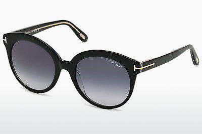 Óculos de marca Tom Ford Monica (FT0429 03W) - Preto, Transparent