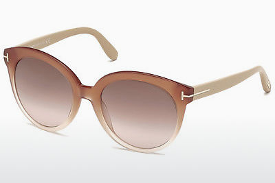 Óculos de marca Tom Ford Monica (FT0429 74F) - Rosa, Rosa