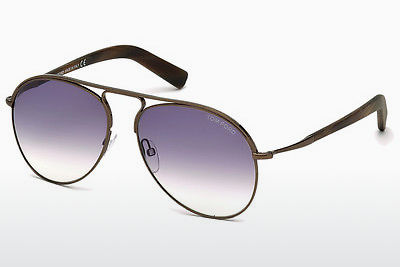 Óculos de marca Tom Ford Cody (FT0448 48Z) - Castanho, Dark, Shiny