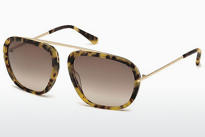 Óculos de marca Tom Ford Johnson (FT0453 53F) - Havanna, Yellow, Blond, Brown
