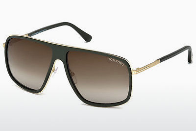 Óculos de marca Tom Ford FT0463 98K - Verde, Dark