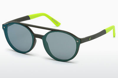 Óculos de marca Web Eyewear WE0184 96Q - Verde, Dark, Shiny