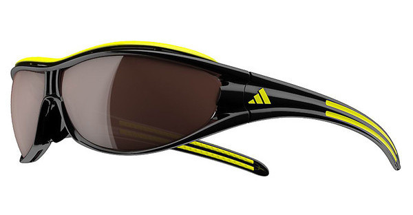 Adidas A126 6108 LST polarized silver + LST bright (antifog)black/yellow