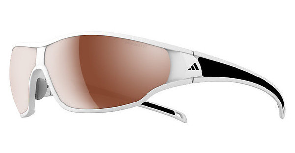Adidas A192 6054 LST polarized silver H+matt white/black