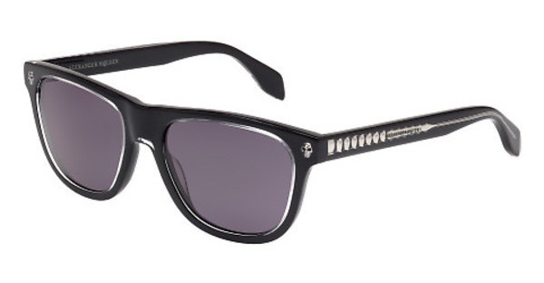 Alexander McQueen AM0023S 001 SMOKEBLACK, BLACK
