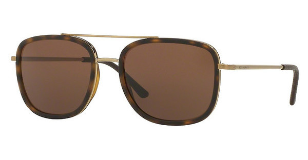 Burberry BE3085Q 11675W BROWNBRUSHED LIGHT GOLD