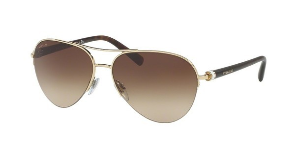 Bvlgari BV6084 278/13 BROWN GRADIENTPALE GOLD