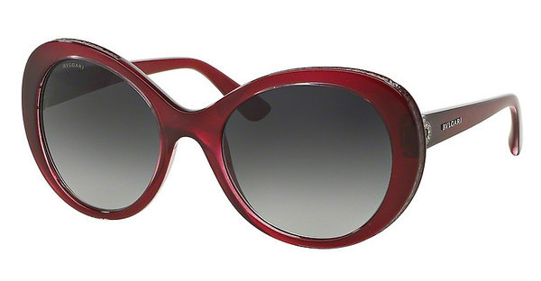 Bvlgari BV8159BQ 10018G GREY GRADIENTCHERRY VIOLET