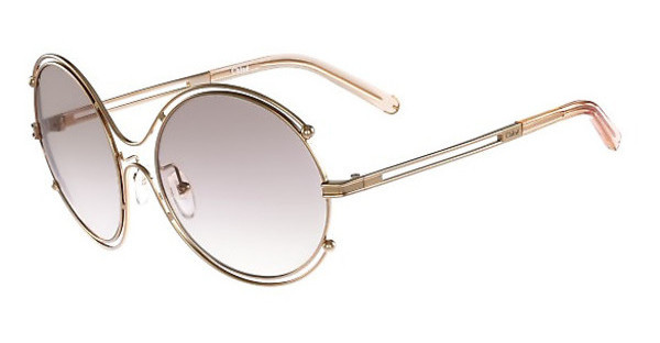 Chloé CE122S 785 ROSE GOLD-PEACH