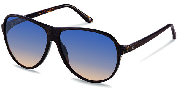 Claudia Schiffer C3001 A skyline black camelbrown wood brushed