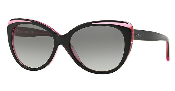 DKNY DY4125 366611 GREY GRADIENTTOP BLACK ON PINK TR