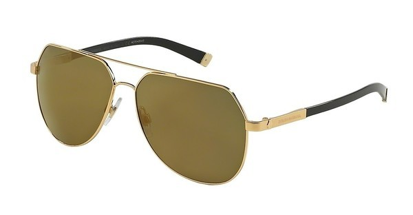 Dolce & Gabbana DG2133K 02/39 GREEN MIRRO GOLDGOLD PLATED SAND/SHINY