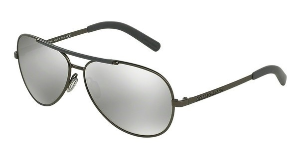 Dolce & Gabbana DG2141 12216G LIGHT GREY MIRROR SILVERMATTE GUNMETAL