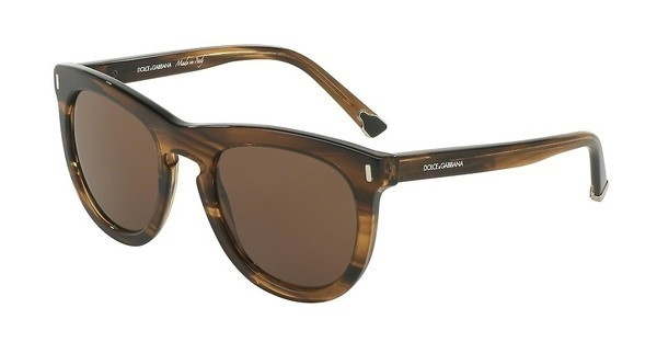 Dolce & Gabbana DG4281 292573 BROWNSTRIPED TOBACCO