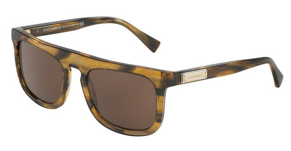Dolce & Gabbana DG4288 306373 BROWNSTRIPED BROWN