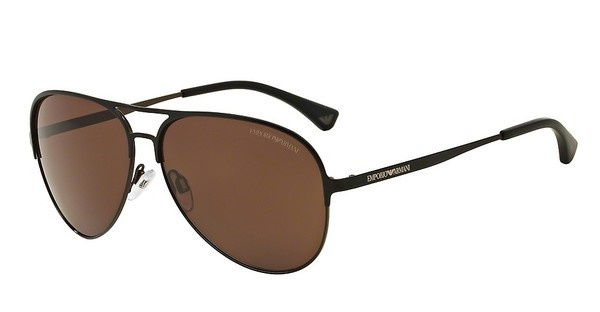 Emporio Armani EA2032 312773 BROWNMATTE BLACK/BLACK/BROWN