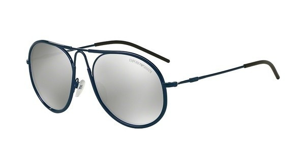 Emporio Armani EA2034 30196G LIGHT GREY MIRROR SILVERBLUE
