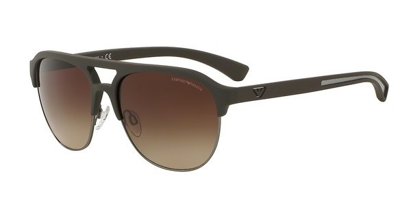 Emporio Armani EA4077 530513 BROWN GRADIENTBROWN RUBBER