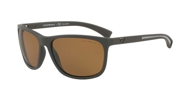 Emporio Armani EA4078 530583 POLAR BROWNBROWN RUBBER