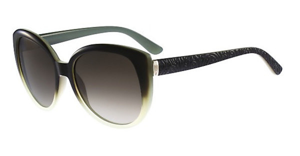 Etro ET602S 337 GRADIENT GREEN