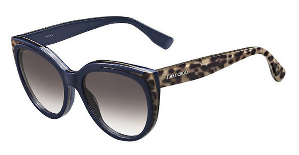 Jimmy Choo NICKY/S PVR/JS BROWN SFANIM BLUE