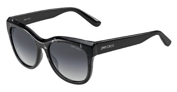 Jimmy Choo NURIA/S W00/HD GREY SFBK SPTTD