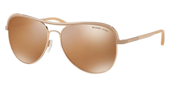 Michael Kors MK1012 11072T GOLD MIRROR POLARIZEDROSE GOLD/TAUPE