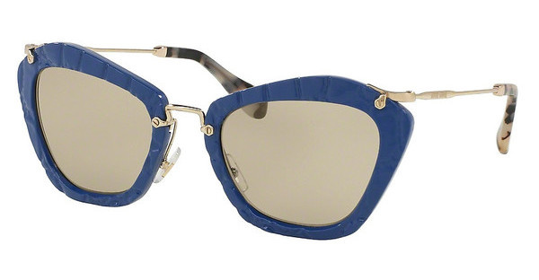 Miu Miu MU 10NS USZ5J2 LIGHT BROWNBLUE