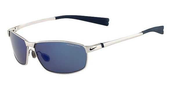 Nike NIKE TOUR EV0744 044 CHROME/SQUADRON BLUE WITH GREY W/BLUE SKY FLASH LENS LENS