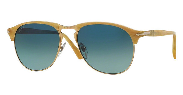 Persol PO8649S 1046S3 LIGHT BLUE GRADIENT DARK BLUELIGHT HORN