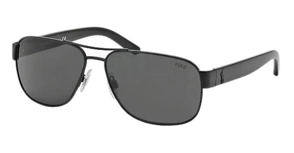 Polo PH3089 903887 GRAYMATTE BLACK