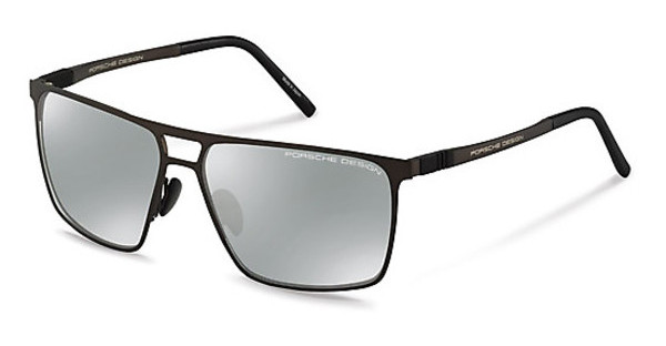 Porsche Design   P8610 C silver mirroreddark chocolate